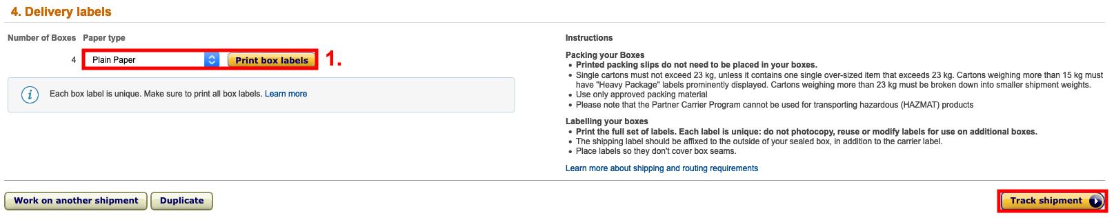 Handleiding Deel 2 - Verzending klaarmaken voor Amazon (FBA)